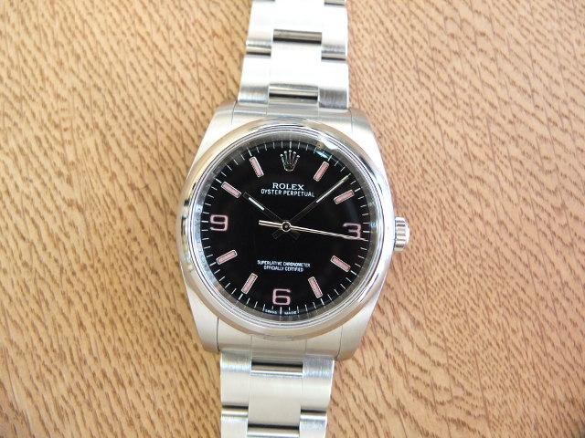 ロレックス オイスターパーペチュアル ピンク3・6・9 G番 Ref.116000