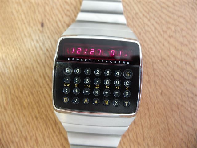 Hewlett Packard HP-01 LED calculator watch