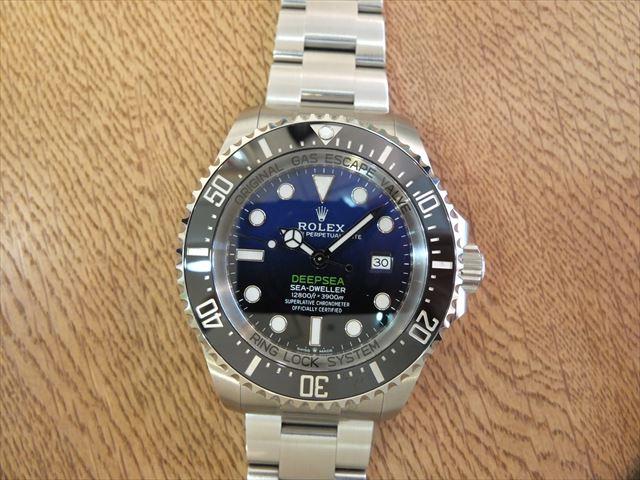 ロレックス 新型ディープシー D-BLUE  Ref.126660
