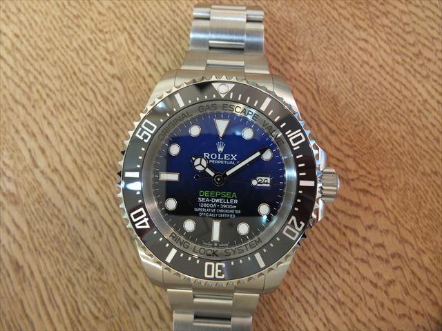 ロレックス ディープシー D-BLUE Ref.126660 未使用品