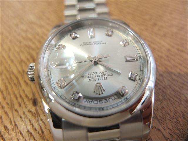 quality design 6507f adaba ロレックス デイデイト アイスブルー P番 Ref.118206   希少な ...
