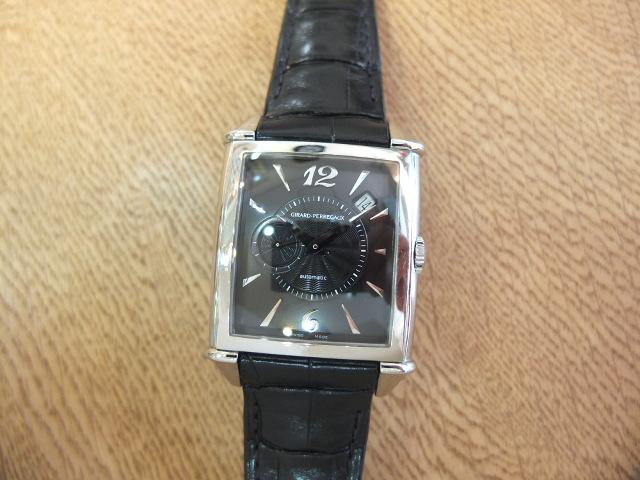 ジラールペルゴ ヴィンテージ1945 黒文字盤 Ref.25835