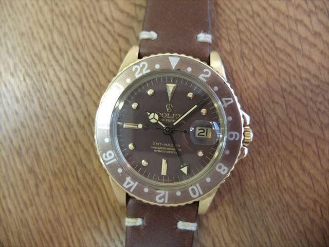 ロレックス GMTマスター Ref.1675 18KYG