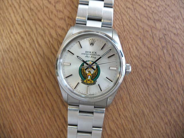 ロレックス エアキング UAE国軍 Ref.5500