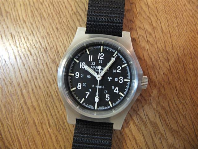 MARATHON 米軍採用腕時計 BENRUSコラボ 600本限定