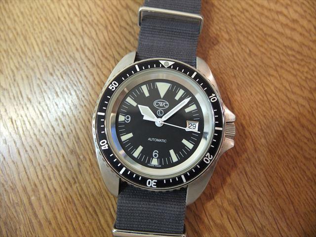 CWC 英国軍採用時計 ロイヤルネイビー・ダイバーズ