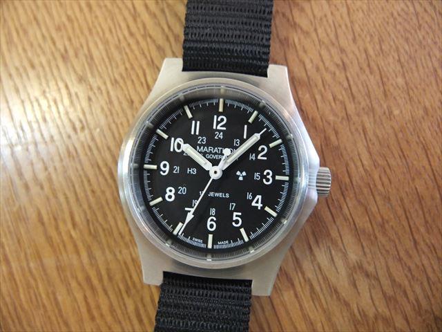 MARATHON マラソン 米軍採用腕時計 BENRUSコラボ 600本限定