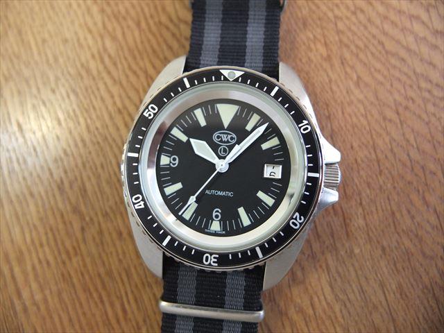 CWC 英国軍採用腕時計 ロイヤルネイビー・ダイバーズ
