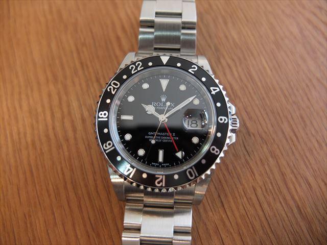 ロレックス GMTマスターⅡ Ref.16710 未使用品