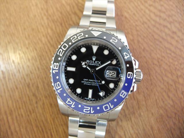 ロレックス GMTマスターⅡ Ref.116710BLNR