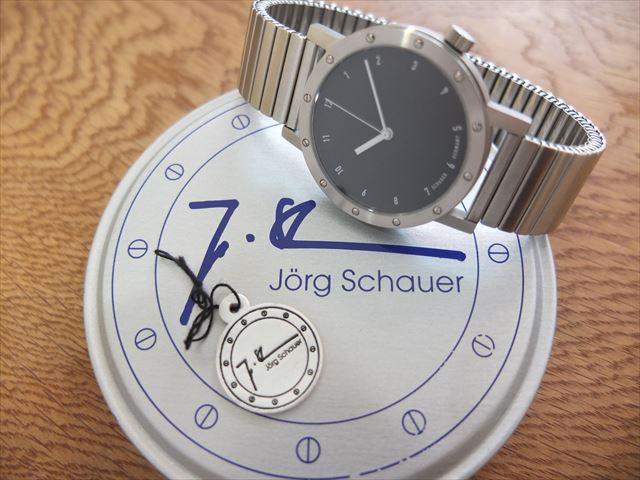 シャウアー Kleine Schauer 黒文字盤