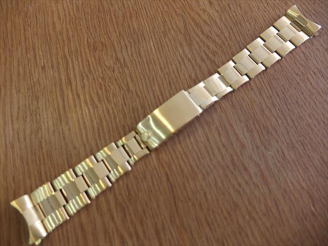 ロレックス 14K 19mm リベットブレスレット