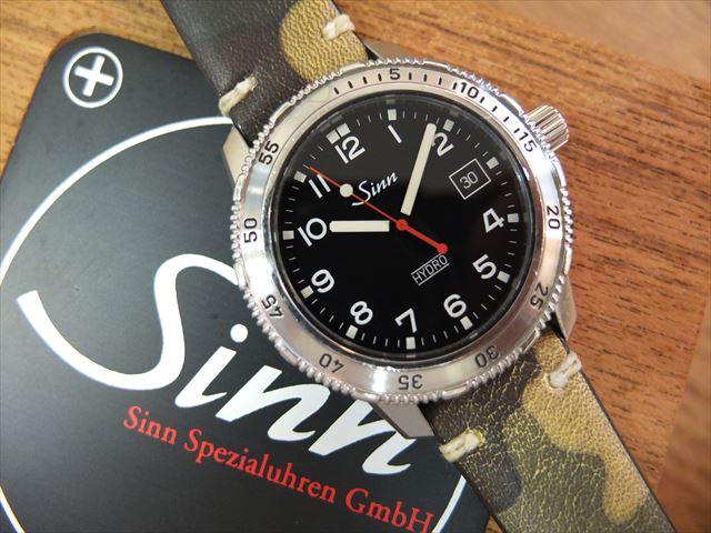 Sinn 403 HYDRO プロフェッショナル ダイバーズ ウォッチ