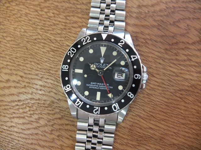 ロレックス GMTマスター Ref.16750 フチなし