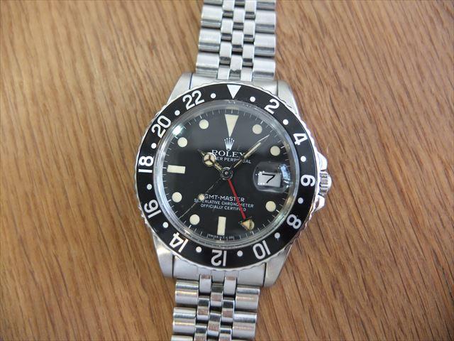 ロレックス GMTマスター Ref.16750 黒ベゼル