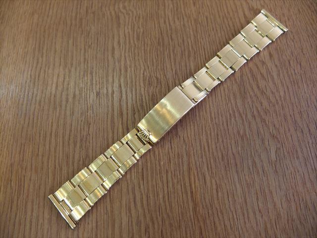 ロレックス 19mm K18 エクステンションブレスレット
