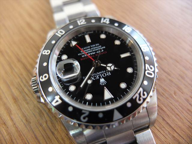 ロレックス GMTマスター Ref.16700 チャックイエーガー