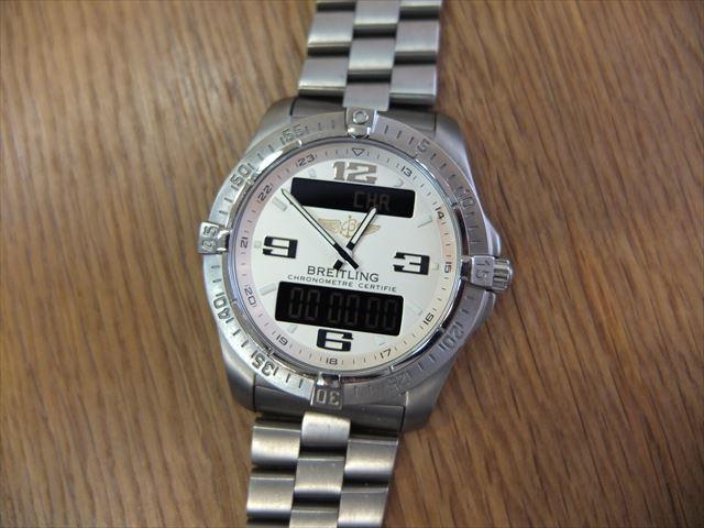 watch 299d4 1447a ブライトリング エアロスペース アヴァンタージュ   希少な ...