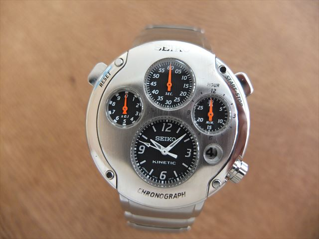 セイコー キネティック ファースト SLQ001 海外モデル