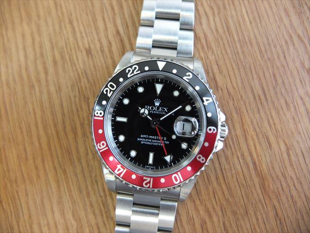 ロレックス GMTマスターⅡ Ref.16710 赤黒ベゼル