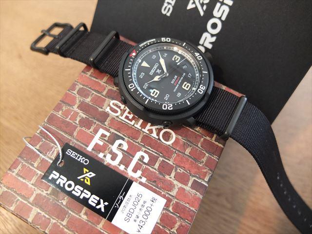 セイコー プロスペックス LOWERCASE Limited Edition Freemans Sporting SBDJ025