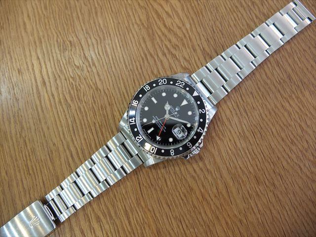 ロレックス GMTマスター Ref.16700 黒ベゼル