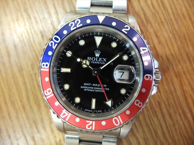 ロレックス GMTマスター Ref.16700 青赤ベゼル