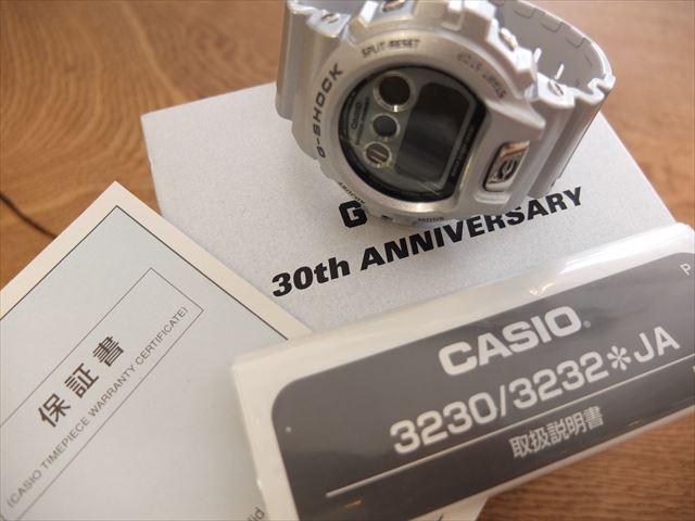 カシオ G-SHOCK 30周年 DW-6930BS-8JR