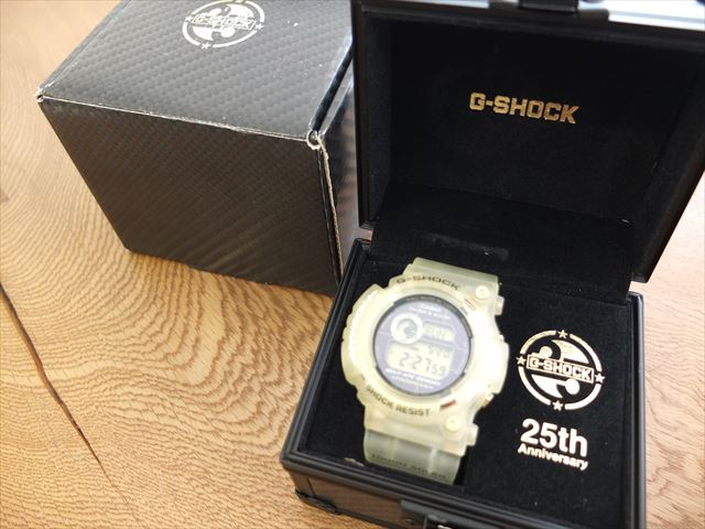 カシオ G-SHOCK 25周年 フロッグマン GW-225E