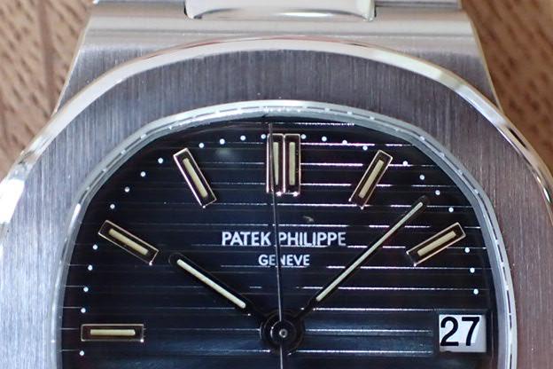 パテックフィリップ ノーチラス Ref.3800  アーカイブ 修理明細付き