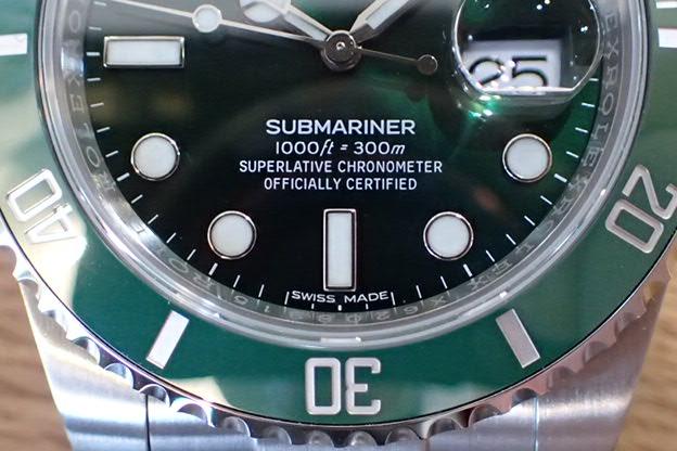 ロレックス グリーンサブマリーナ Ref.116610LV 未使用品