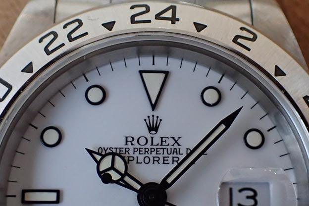 ロレックス エクスプローラⅡ Ref.16570 S番 シングルバックル