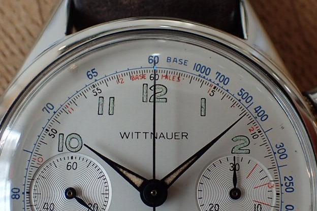 ウィットナー バルジュー72 クロノグラフ