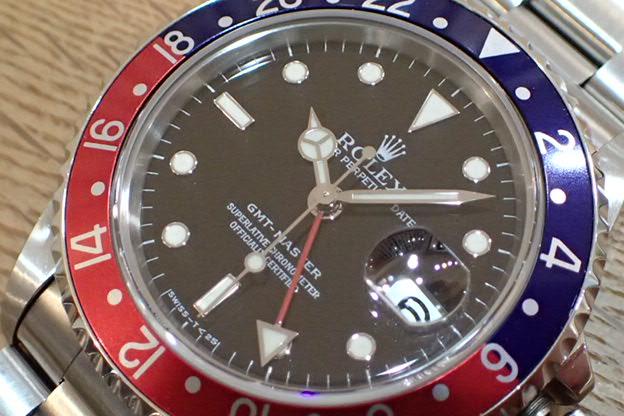 ロレックス GMTマスター T番 青赤ベゼル Ref.16700
