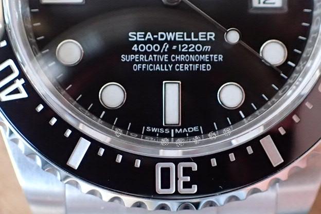 ロレックス シードゥエラー4000 Ref.116600 鏡面バックル