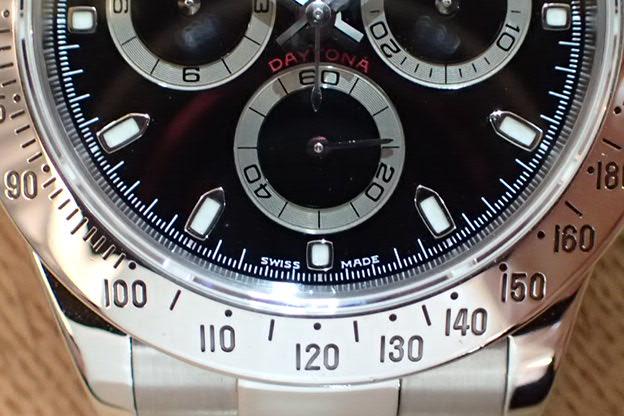ロレックス デイトナ P5 黒文字盤 Ref.116520