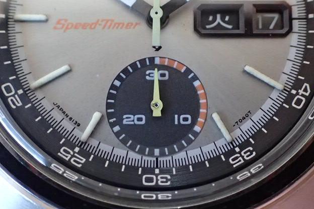 セイコー 5スポーツ スピードタイマー 6139-7020