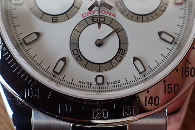 ロレックス デイトナ クリーム文字盤 K番 Ref.116520