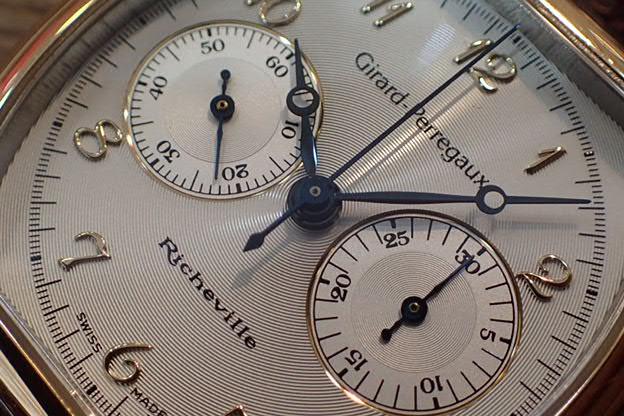 ジラールペルゴ リシュビルクロノ・コンビ Ref.2710 手巻き