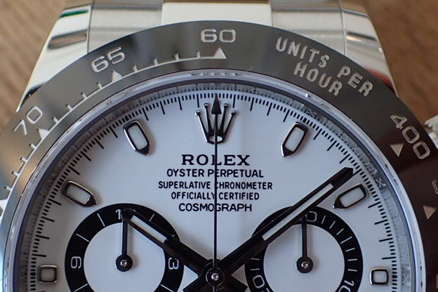 ロレックス デイトナ Ref.116500LN 白文字盤