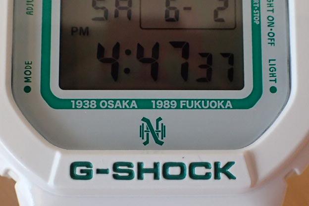 カシオ 南海ホークス × G-SHOCK 球団創立75周年