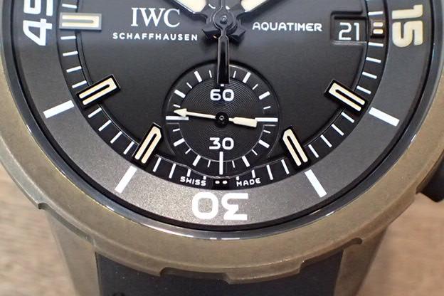 IWC アクアタイマー クロノ チャールズダーウィン IW379503