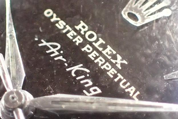 ロレックス エアキング ミラー文字盤 Ref.5500
