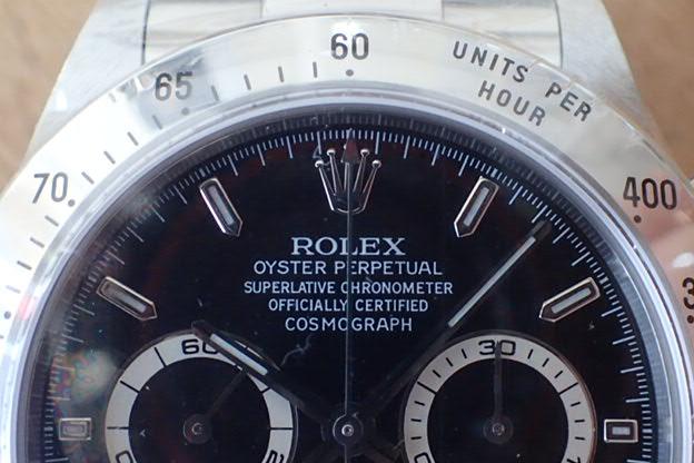 ロレックス デイトナ A9 黒文字盤 Ref.16520 国内正規品 デットストック