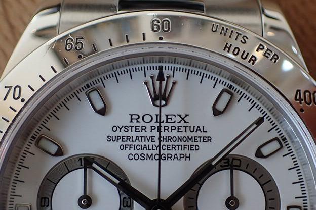 ロレックス デイトナ クリーム文字盤 P5番 Ref.116520