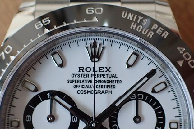 ロレックス デイトナ Ref.116500LN 白文字盤 未使用