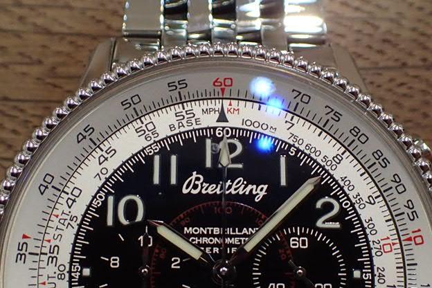 ブライトリング モンブリラン1903 ライト兄弟100周年 A35330