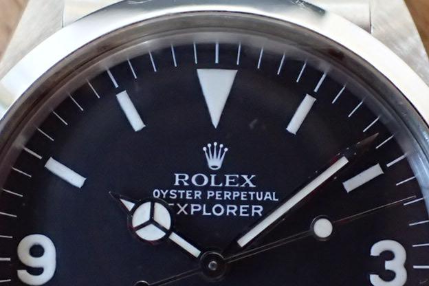 ロレックス エクスプローラⅠ R番 Ref.1016