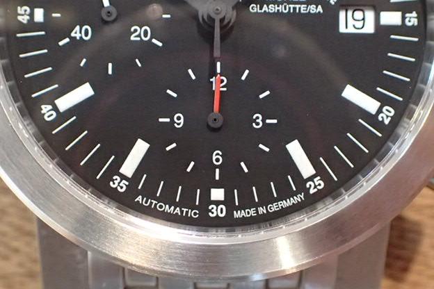 ミューレグラスヒュッテ クロノグラフ M-12123