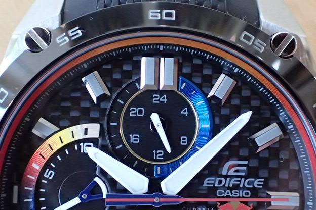 EDIFICE×CASIO スクーデリア・トロ・ロッソ EFR-557TRP-1AJR